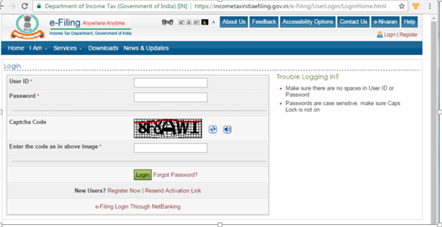 How to Link Aadhaar Number to PAN Card- Login