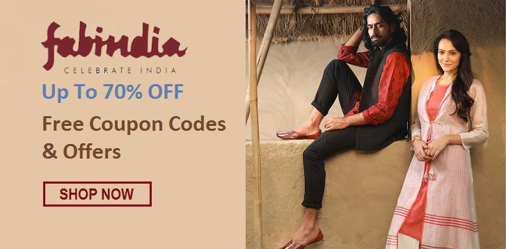 Fabindia Coupons - Save up to 70% on Fashion & Furniture