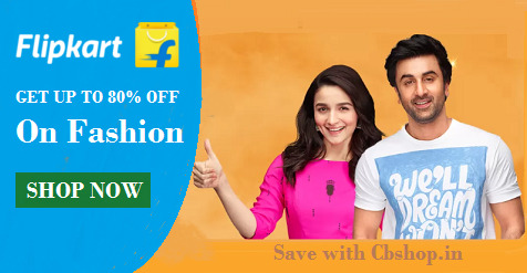 Flipkart Coupons - Save up to 80% on Fashion | Cbshop.in