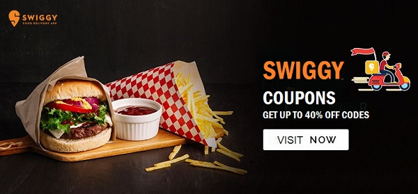 Swiggy Coupons - Save up to 60% on Food online order | Cbshop.in