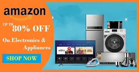 Amazon Electronics Appliances coupons