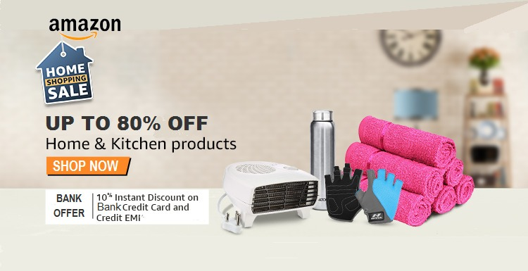 Amazon Coupons - Up to 80% OFF on Home and Kitchen products