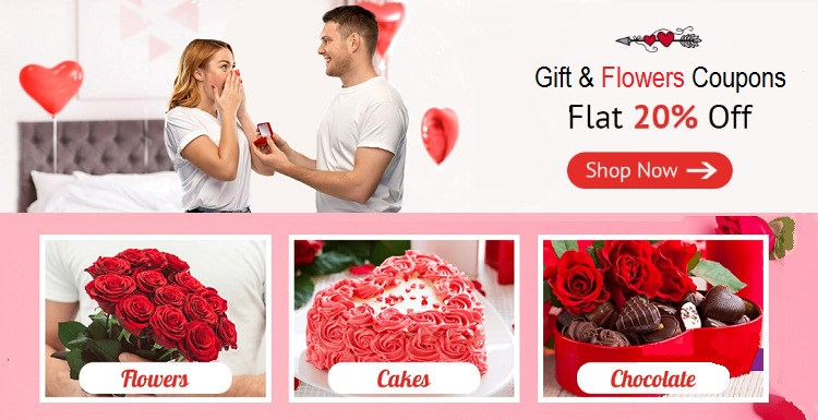 Gift & Flower Coupons - Save Up To 80% Today | Cbshop.in