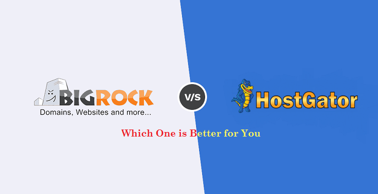 HostGator India vs Bigrock - Which One is the Best for You | Cbshop.in