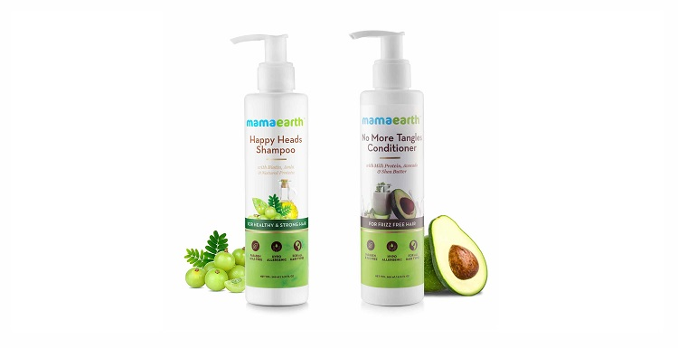 Get 3% OFF on Mama Earth Healthy Hair Combo