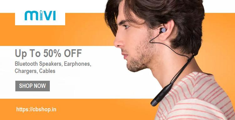 Mivi Coupons - Flat 30% OFF on Earphone, Speaker | Cbshop.in