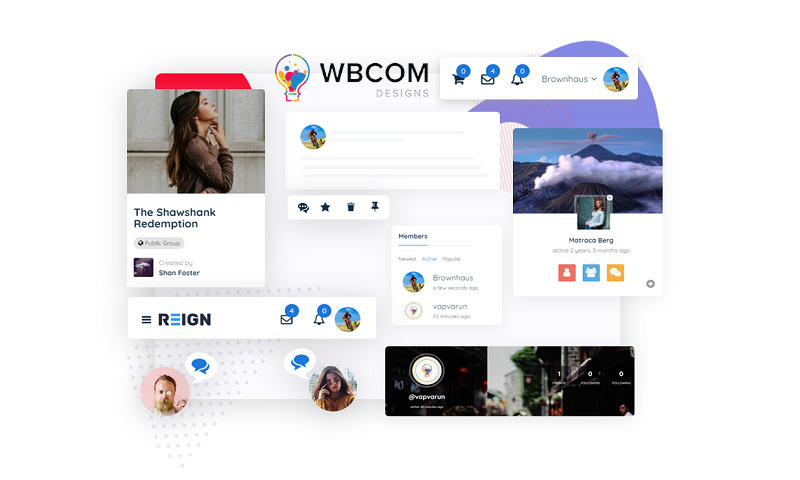 WBCOM Coupons - Save 60% Now | WordPress Themes Plugins