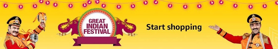 Amazon Coupons - Up to 80% OFF on Amazon Great India Festival Sale