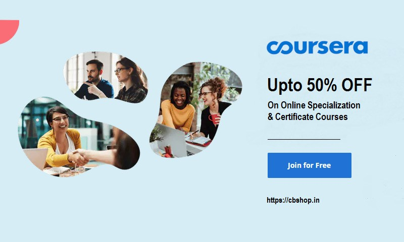 Coursera Coupons - Up to 50% OFF Promo codes | Cbshop.in