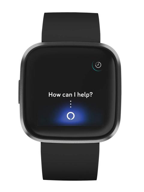 Fitbit Black Versa 2 Health & Fitness Smartwatch FB507BKBK