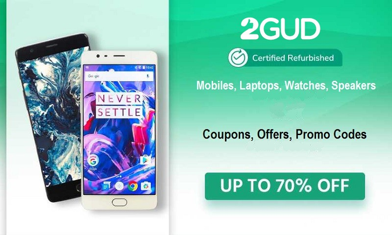 2GUD Coupons Offers Promo Codes - Up to 80% OFF | Cbshop.in