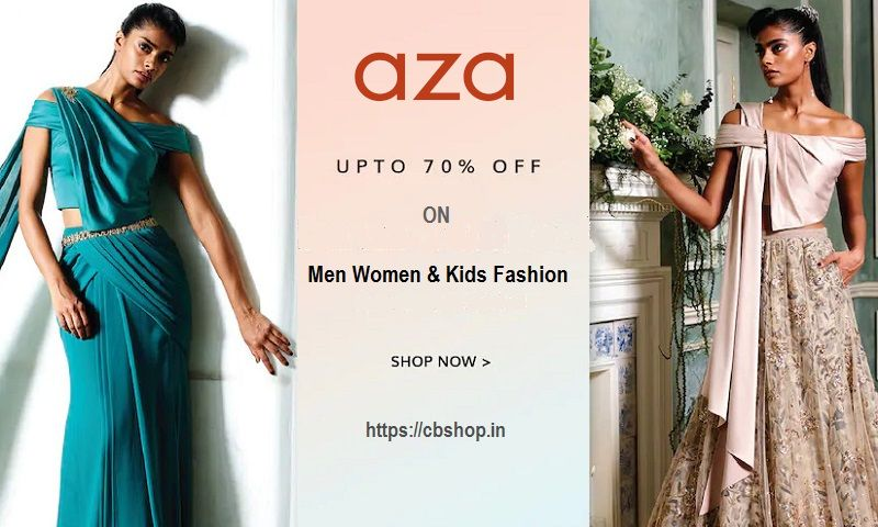 AZA Coupons - Upto 80% OFF AZA Coupon Codes | Cbshop.in