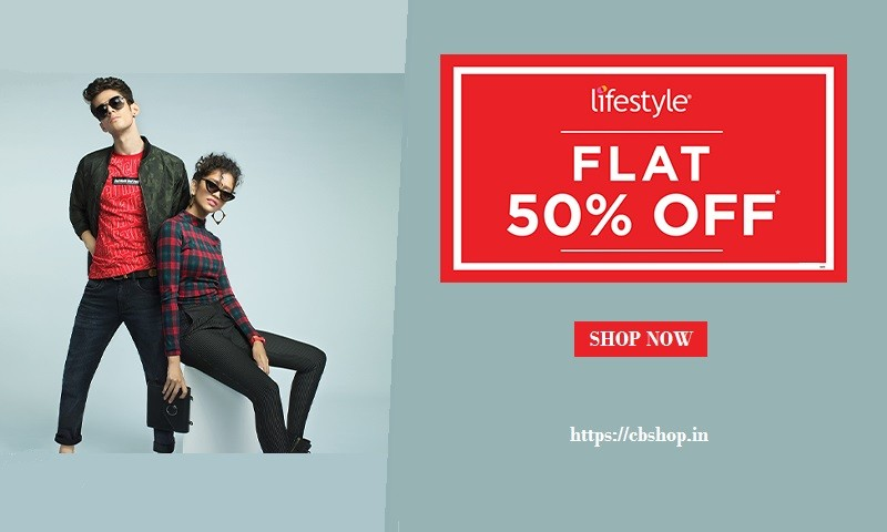 Lifestyle Coupons - Upto 80% OFF Coupon Codes | Cbshop.in