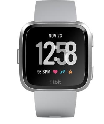 Fitbit Versa Smartwatch(Grey Strap, Regular)