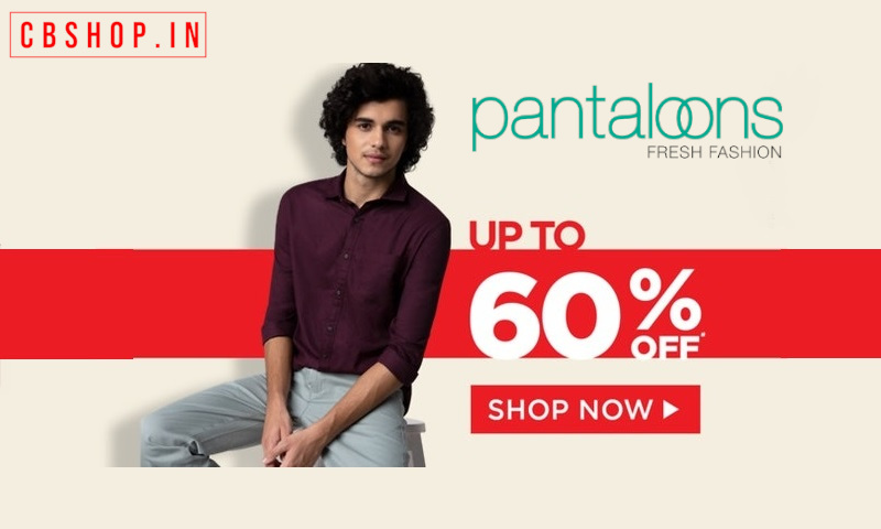Pantaloons Coupons - Up to 80% OFF Coupon Code | Cbshop.in