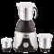 Boss Deluxe 550 Watt Mixer Grinder (Deluxe B243, Silver/Black)